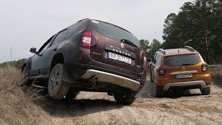 Renault Duster 2018 Vs Duster 2016 - Offroad