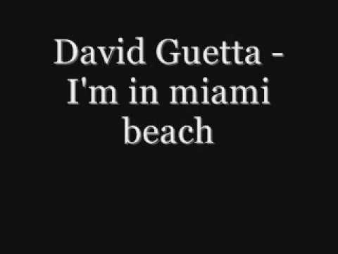 I'm in miami beach - David Guetta .wmv