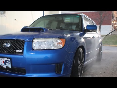 Subaru Forester 2.5XT Car Wash! And Goodbye?