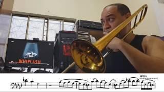 Minha transcrição do solo de trombone da música Caravan (Duke Ellin...