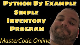 Python Programming: Simple Inventory Program In Python