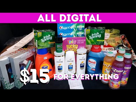 EASY CVS COUPONING ALL DIGITAL COUPONS! 17 items for $15! WITH KIDS / TEENAGERS