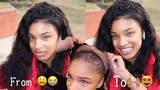HOW TO : Wash Lace Frontal Sew In & Prep for Reinstall | Peruvian Loose Wave | GRWM