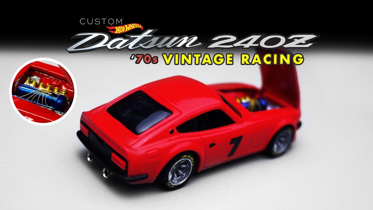 Datsun 240Z Vintage Racing Custom Hot Wheels