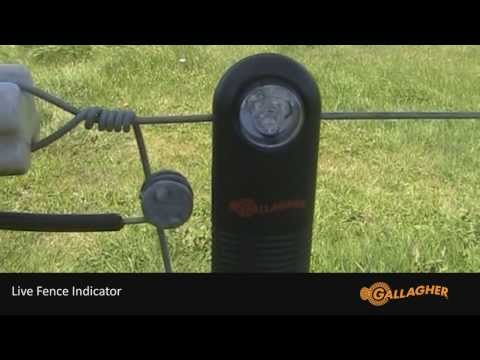 Gallagher Live Fence Indicator Installation