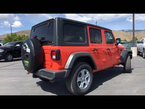 2019 Jeep Wrangler Carson City, Dayton, Reno, Lake Tahoe, Carson valley, Northern Nevada, NV 19W4055