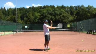 How To Improve A Top Spin Tennis Serve