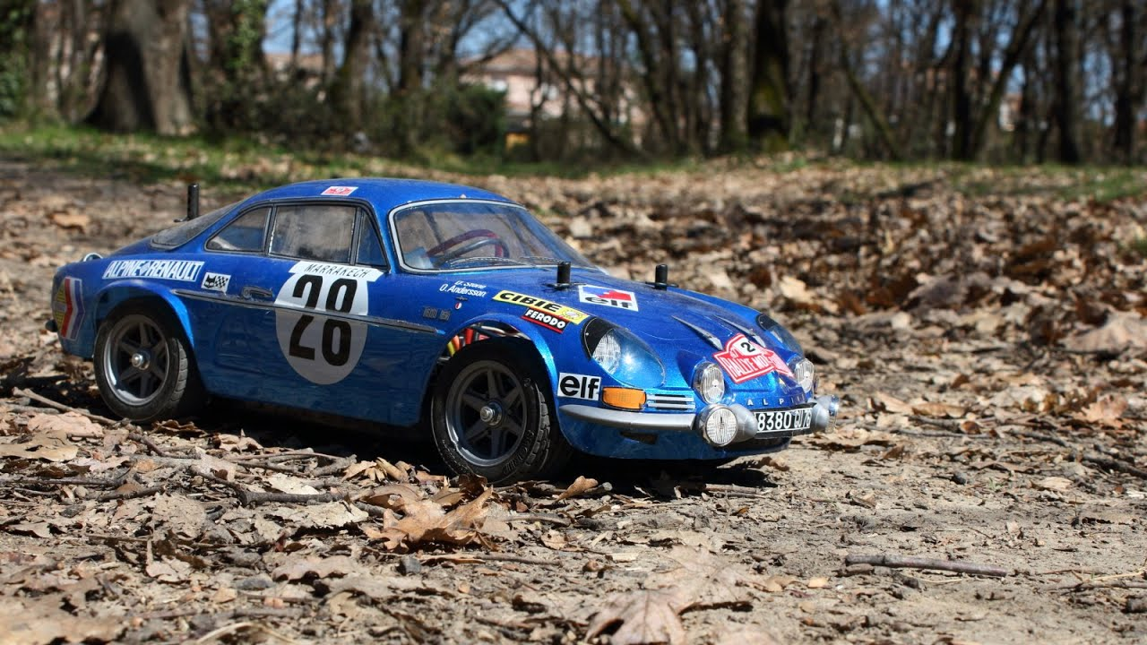 tamiya m06 alpine renault a110 1600s 1000 lakes rally youtube. Black Bedroom Furniture Sets. Home Design Ideas