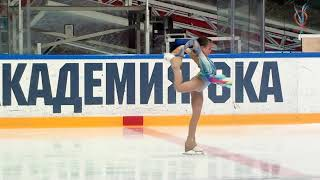 Олеся Лучкова СПб СШОР ФК 20210422 Ice Burevestnik G 1S 2009 2010 FS