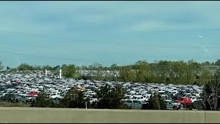 Thousands of Ford Trucks Sit In Kentucky Lots, Waiting for Semi Chip-Related Components