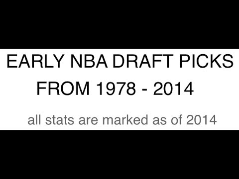 *RARE* NBA 1ST ROUND DRAFT CLASSES 1978-2014 PICKS vs CHAMPS vs FLOPS