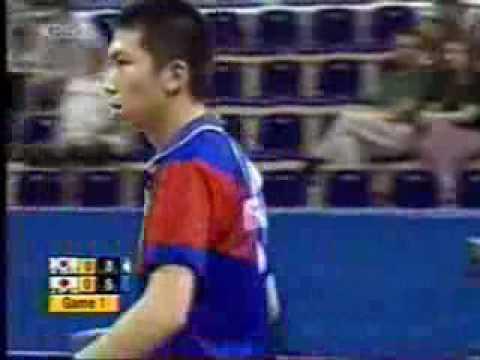 Ryu Seung Min vs  Koji Matsushita 2004 Olympics Part 1