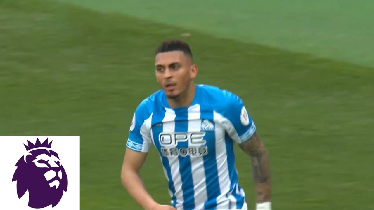 Huddersfield's Karlan Grant whips second into goal against West Ham | Premier League | NBC Sports
