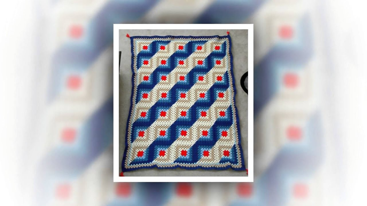 How To Crochet Name On Baby Blanket