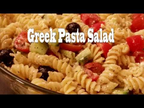 Greek Pasta Salad Low Calorie Recipe