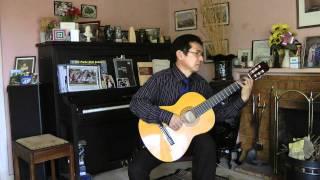 Dang Thao - Malagueña - Flamenco Guitar
