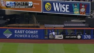 NLCS Gm2: Granderson robs Coghlan with leaping catch