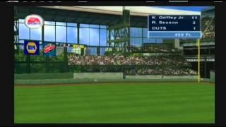Triple Play 2002 Home Run Derby Ken Griffey Jr. vs Richie Sexson Quarter Finals