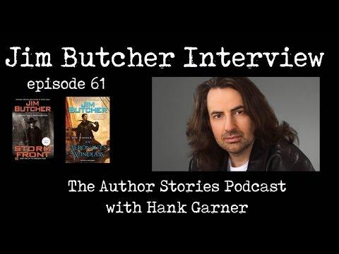 Author Stories Podcast Episode 61 | Jim Butcher Interview