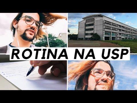 MINHA ROTINA DE UNIVERSITÁRIO NA USP
