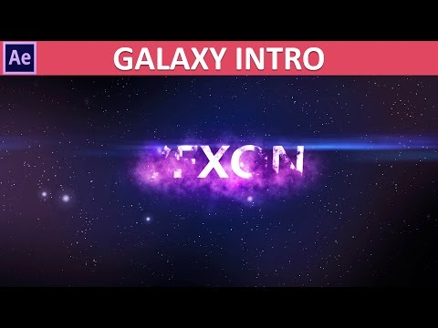 After Effects Galaxy Intro Tutorial