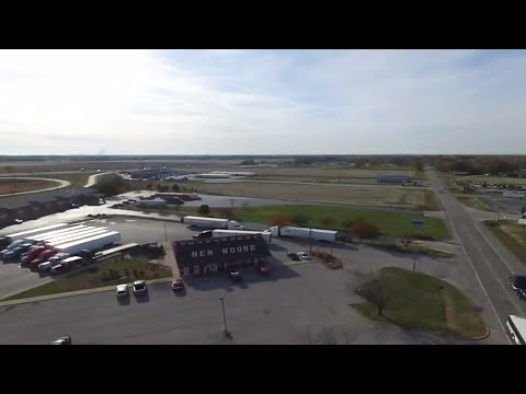Flying The Drone Above The Flying J In Pontoon Beach IL Part 1