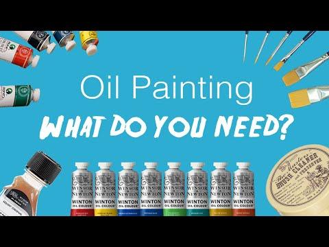 Essential Oil Painting Supplies! (Beginners)