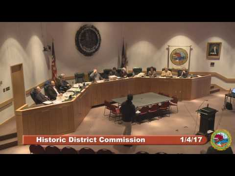 Historic District Commission 1.4.17