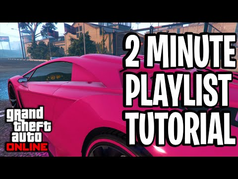 HOW TO CREATE A PLAYLIST (RECENT ACTIVITY TUTORIAL) GTA ONLINE