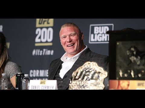 "Brock Lesnar ""Why Does It Matter? I'm Here.""  (UFC 200)"