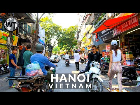 Hanoi City, Old Quarter - 🇻🇳 Vietnam - 4K Virtual Tour