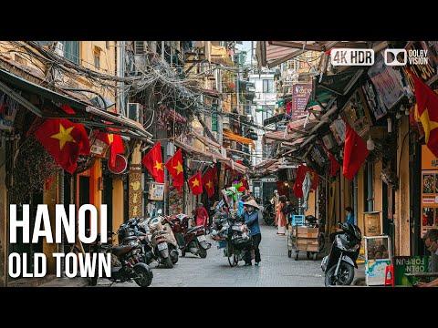 Hanoi City, Old Quarter - 🇻🇳 Vietnam - 4K Virtual Tour