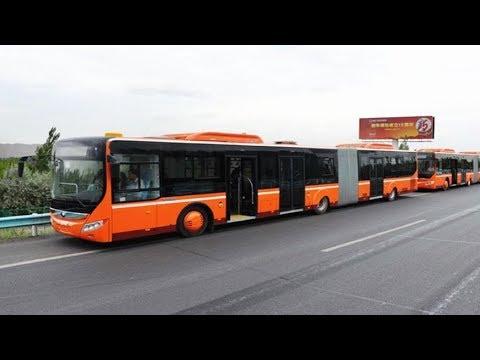 全球首例!中国无人公交车上路 7个定位摄像头 精度达厘米级