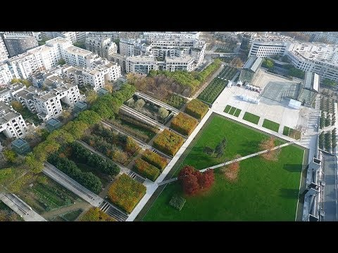 Places to see in ( Paris - France ) Parc Andre Citroen
