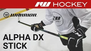 Warrior Alpha DX Stick On-Ice Review