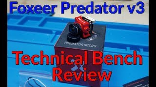 Foxeer Predator v3 FPV Camera Technical Bench Review with Raw Electrical Latency Testing
