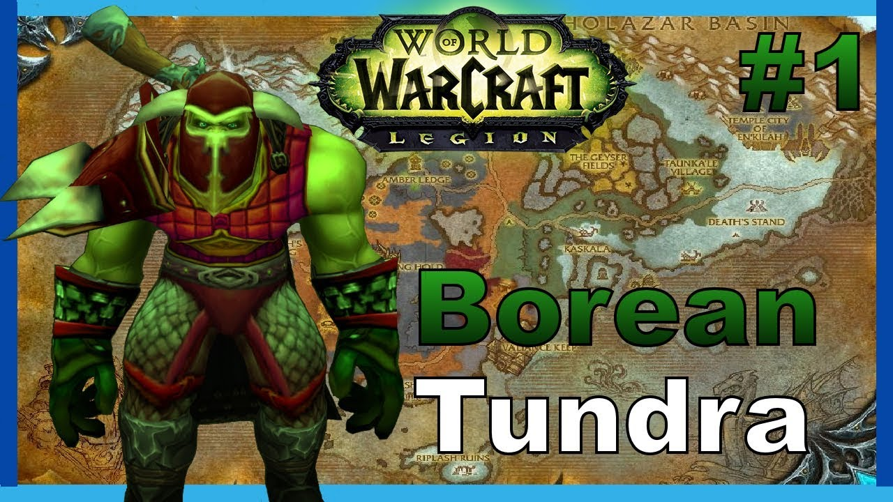 how to get to borean tundra alliance legion