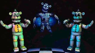 СЕКРЕТНЫЙ АНИМАТРОНИК ГОЛДЕН ФРЕДДИ Five Nights at Freddy s Sister Location Теории и Секреты