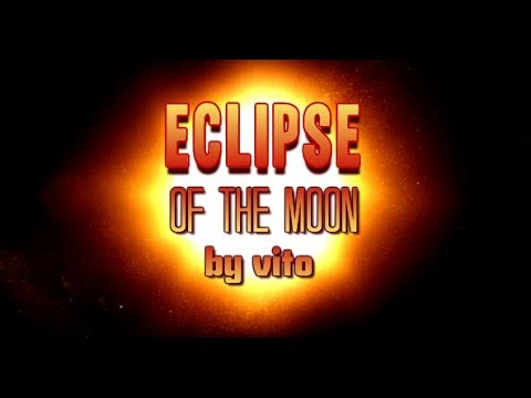 Eclipse of the moon Friday 27 July 2018 Terrasini  Palermo Sicily Italy