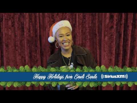 Stars share their favorite holiday songs // SiriusXM // Holiday Traditions