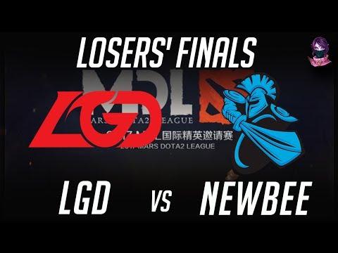 LGD vs NewBee MDL 2017 Mars Dota 2 League 2017 Highlights by Time 2 Dota