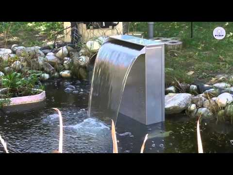 fiap premiumdesign waterfall ist ein edles designobjekt. Black Bedroom Furniture Sets. Home Design Ideas