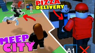 ROBLOX | Meep City & Work at a Pizza Place