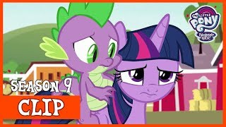 Twilight and Spike get Prepared to Move Back to Canterlot (The Last Problem) | MLP: FiM [HD]