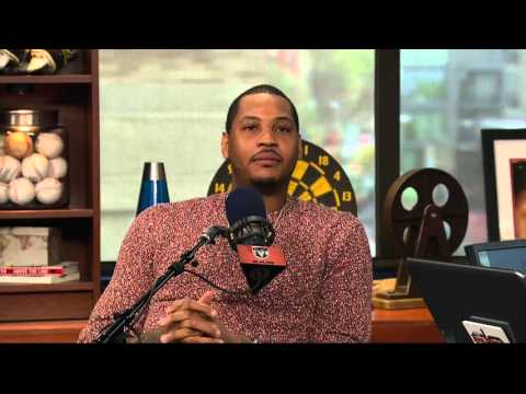 Carmelo Anthony shares story of first tattoo (4/28/16)