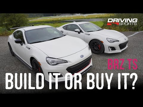 2018 Subaru BRZ tS Review - Build it or buy it? We look at the best mods.