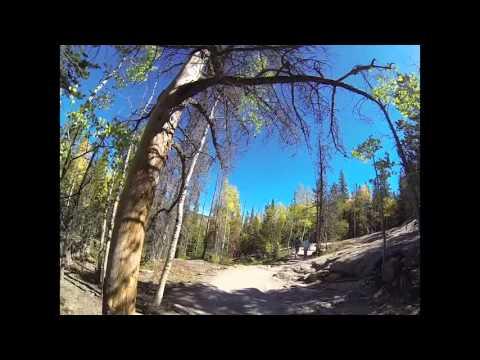 Trail of Highways™ Glacier Gorge Trail Hike to Mills Lake on to Bear Lake 9 20 2015 sq 2