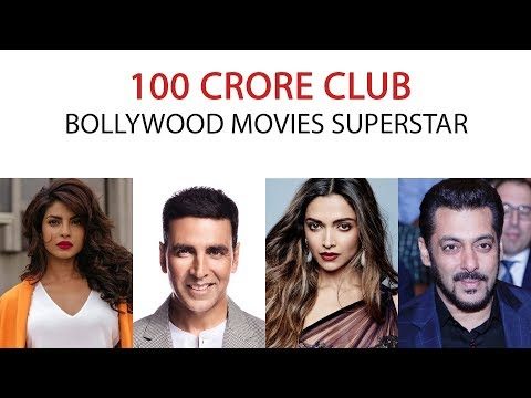 Top 10, 100 crore club Movies and Actors.