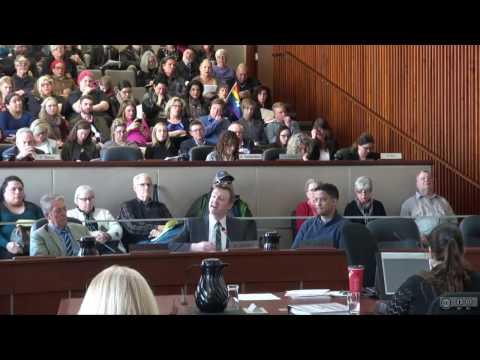 Hamilton City Council: Audit, Finance, Admin - March 6, 2017: Transgender Policy