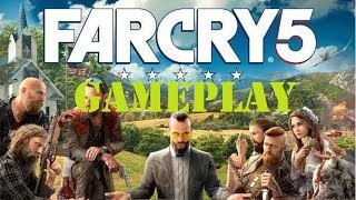 FAR CRY V NEW GAMEPLAY AMAZING! PS4/XBOX ONE/PC (2018)